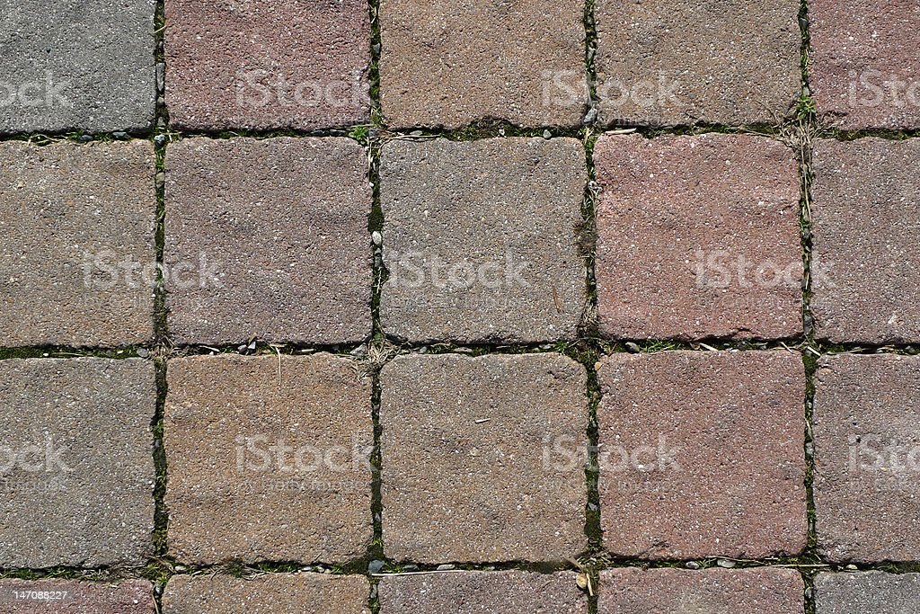 Pave stones royalty-free stock photo