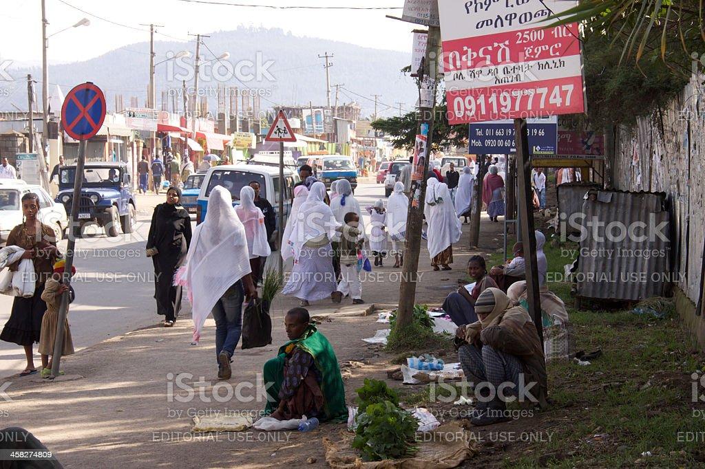Pavement at Djibouti Street royalty-free stock photo