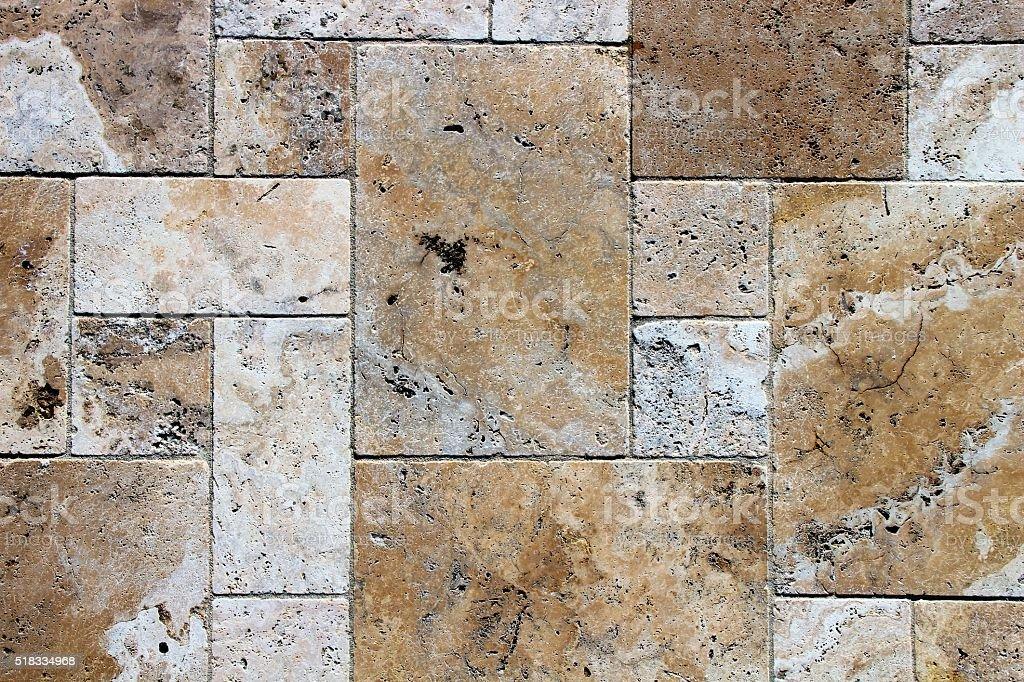 Pavement detail stock photo
