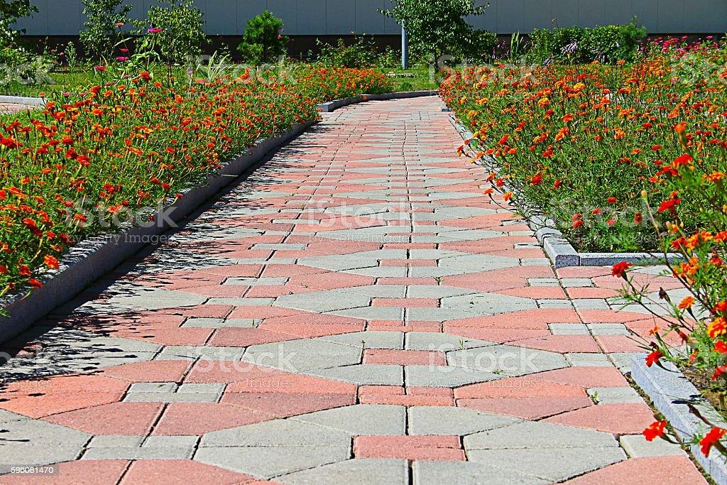 pavement of paving stock photo