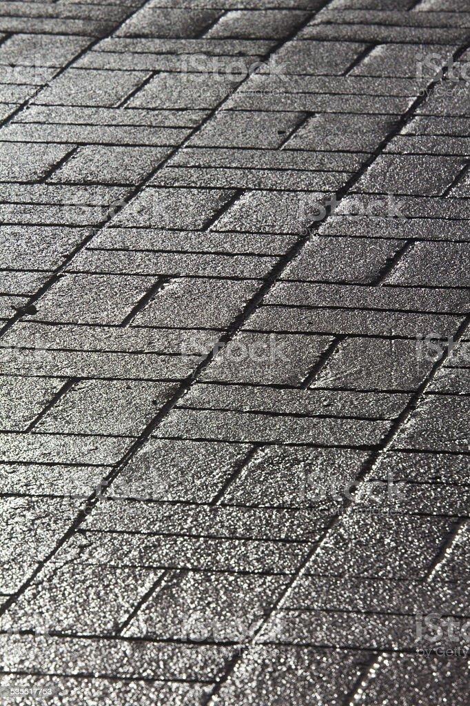 Pavement pattern stock photo