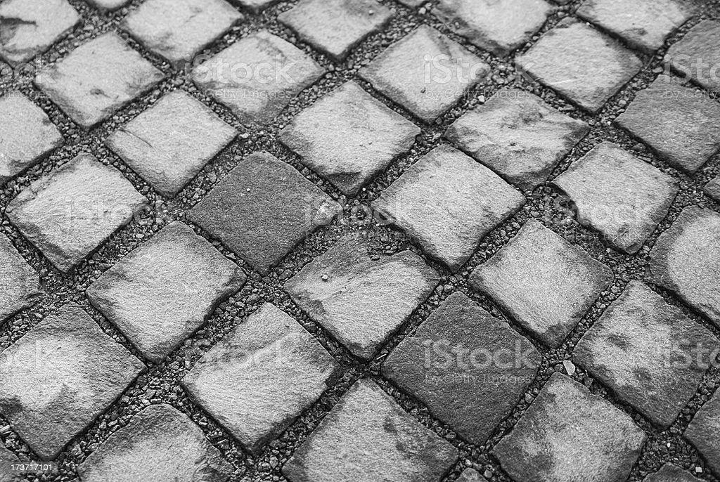 Pavement texture royalty-free stock photo