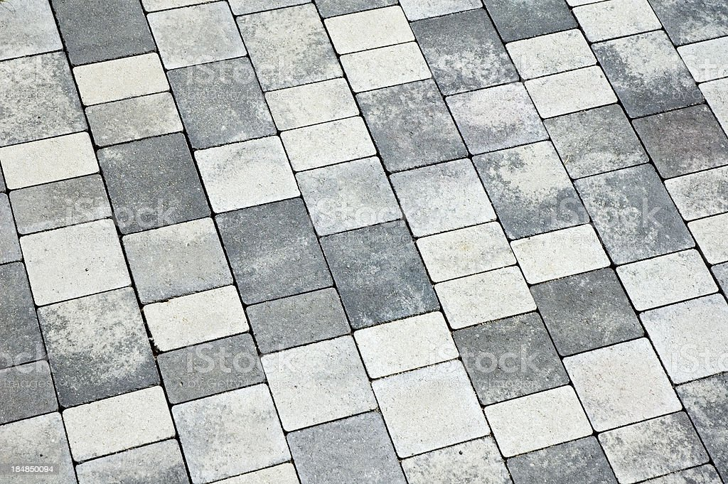 Paver royalty-free stock photo