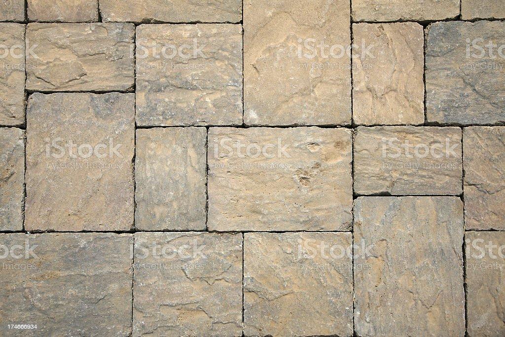 Paver Stone stock photo