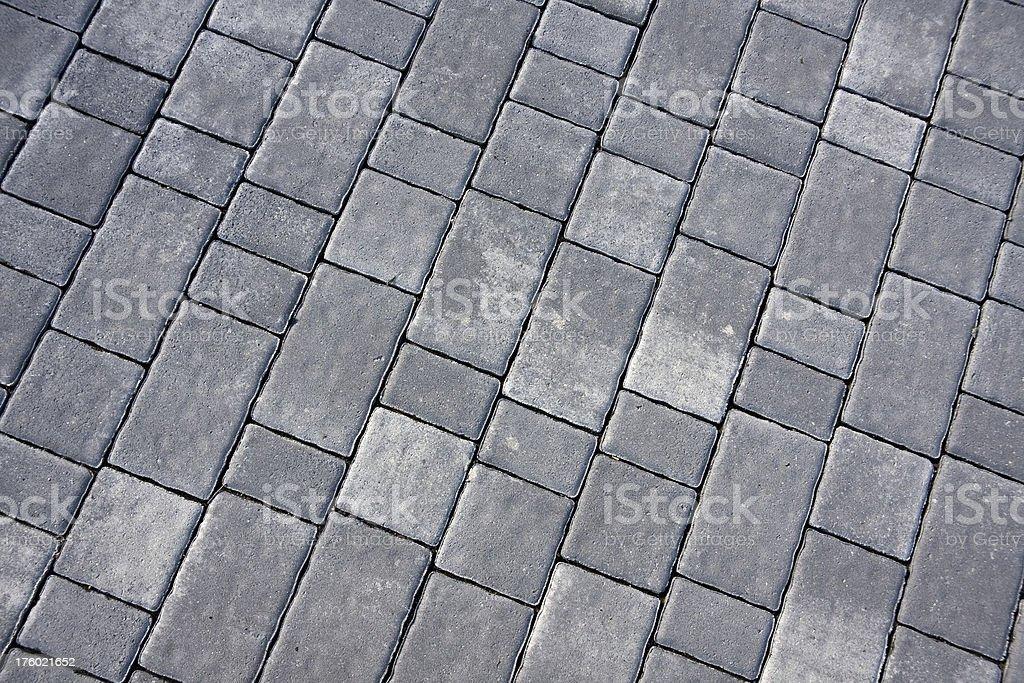 Paver stones royalty-free stock photo
