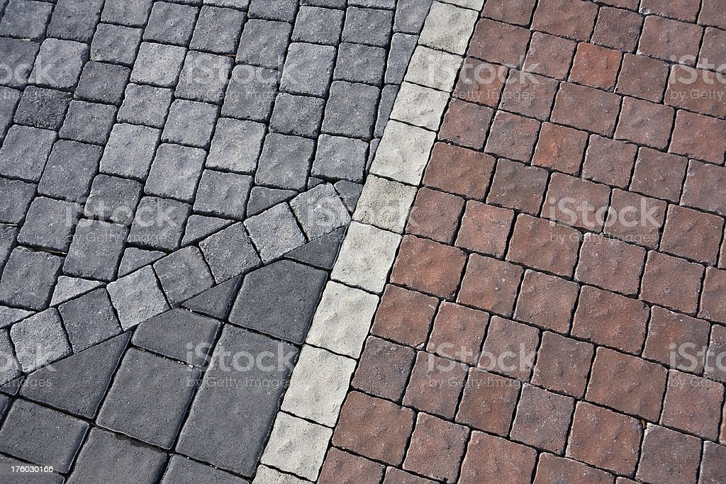 Paver stones royalty-free stock photo