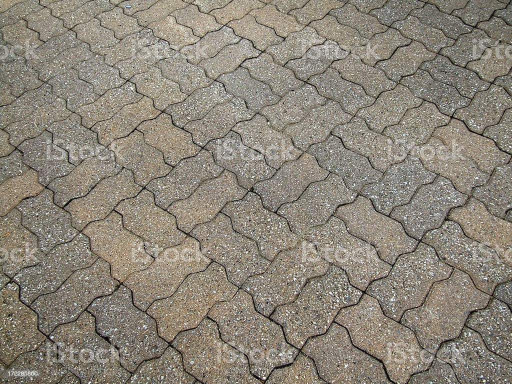 Paver Waver royalty-free stock photo