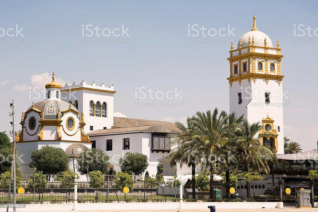 Pavilion Argentina in Sevilla stock photo