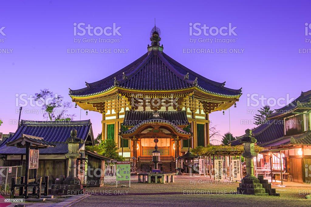 Pavilion in Nara, Japan stock photo