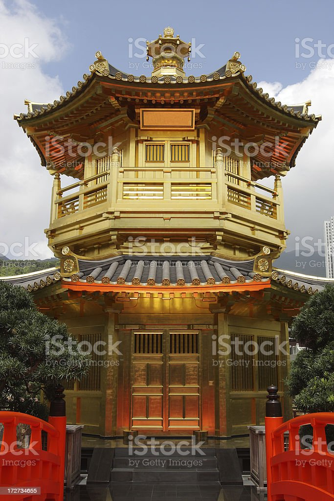 Pavilion royalty-free stock photo