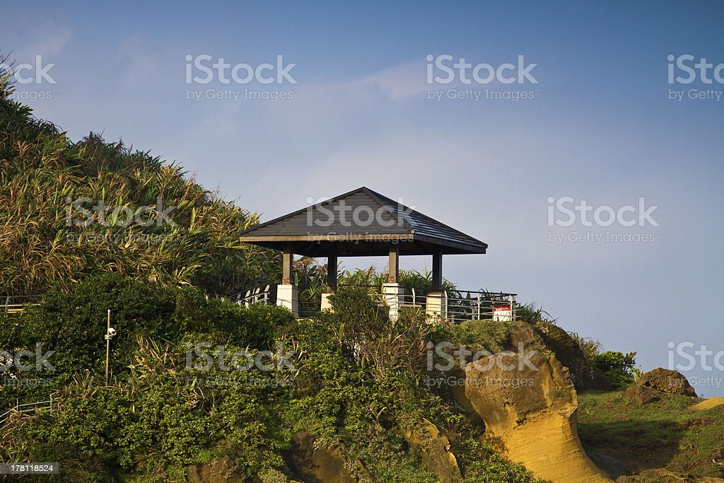 pavilion stock photo