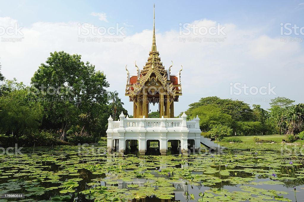 Pavilion thailand royalty-free stock photo