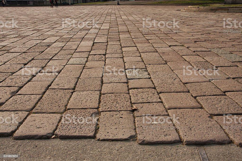 Pavimento di pietra stock photo