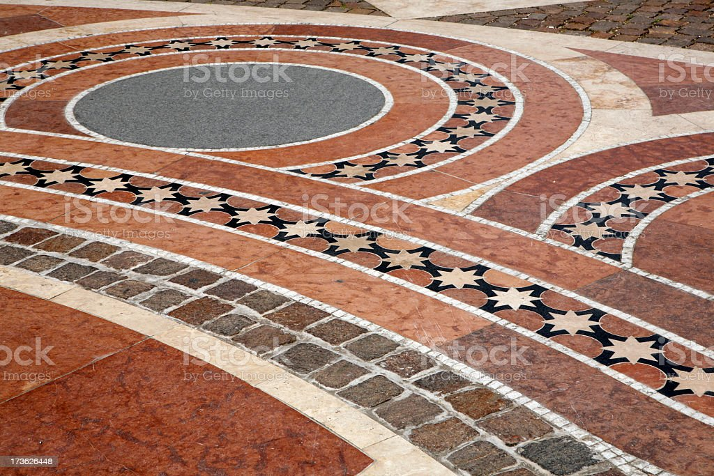 Paving royalty-free stock photo