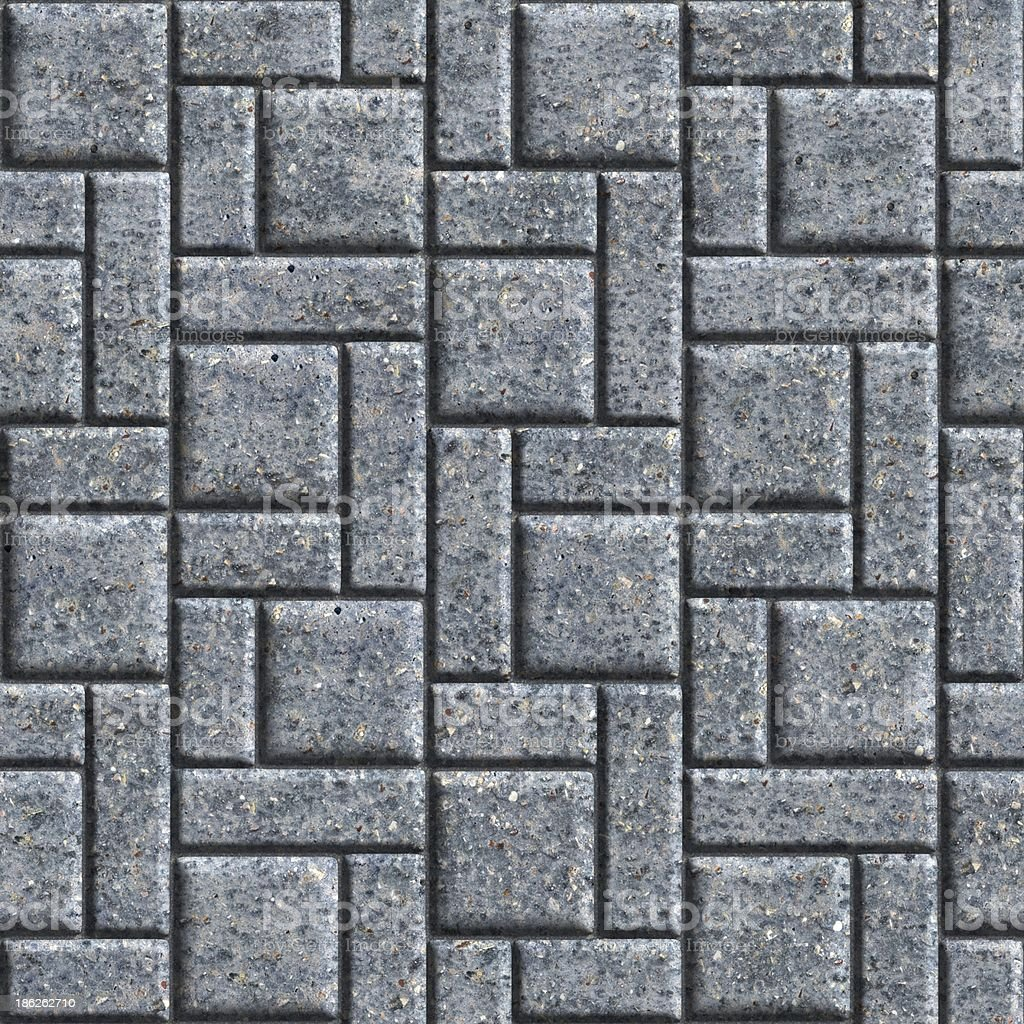 Paving Slabs. Seamless Tileable Texture. royalty-free stock photo