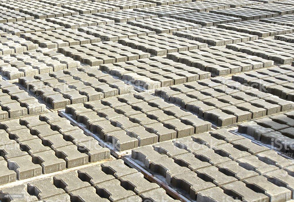 Paving stone concrete royalty-free stock photo