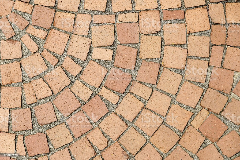 Paving stone pattern royalty-free stock photo