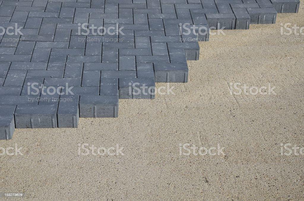 Paving Stone. stock photo