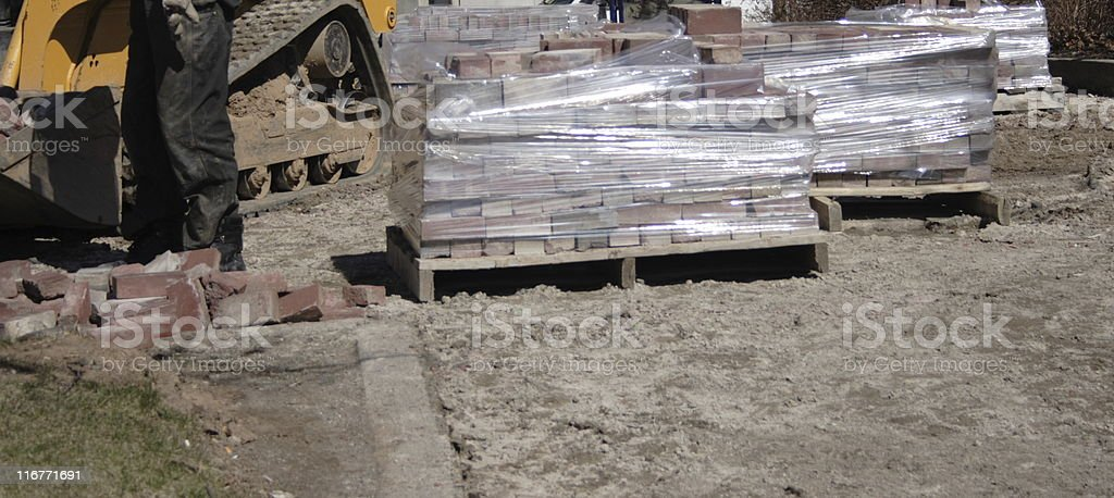 paving stones royalty-free stock photo