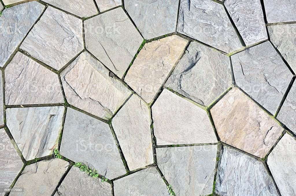 Paving stones texture background stock photo