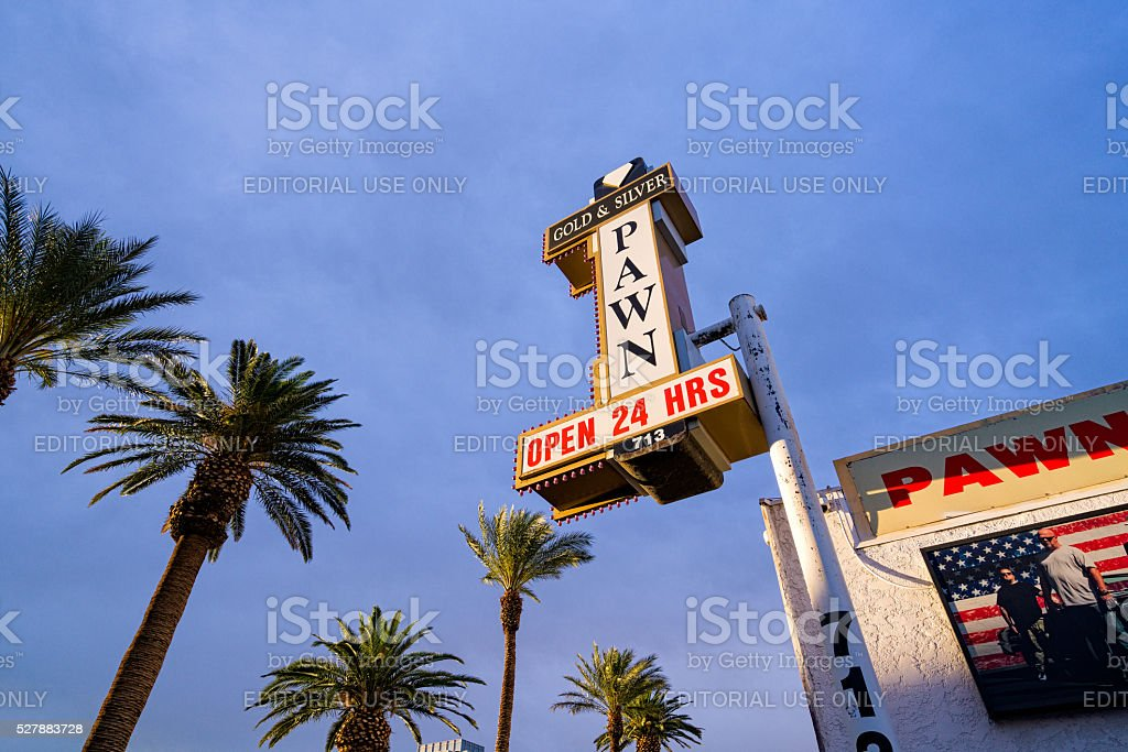 Pawn Stars Shop in Las Vegas stock photo