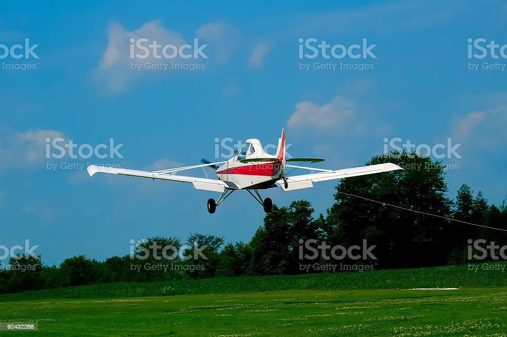 Pawnee Takeoff royalty-free stock photo