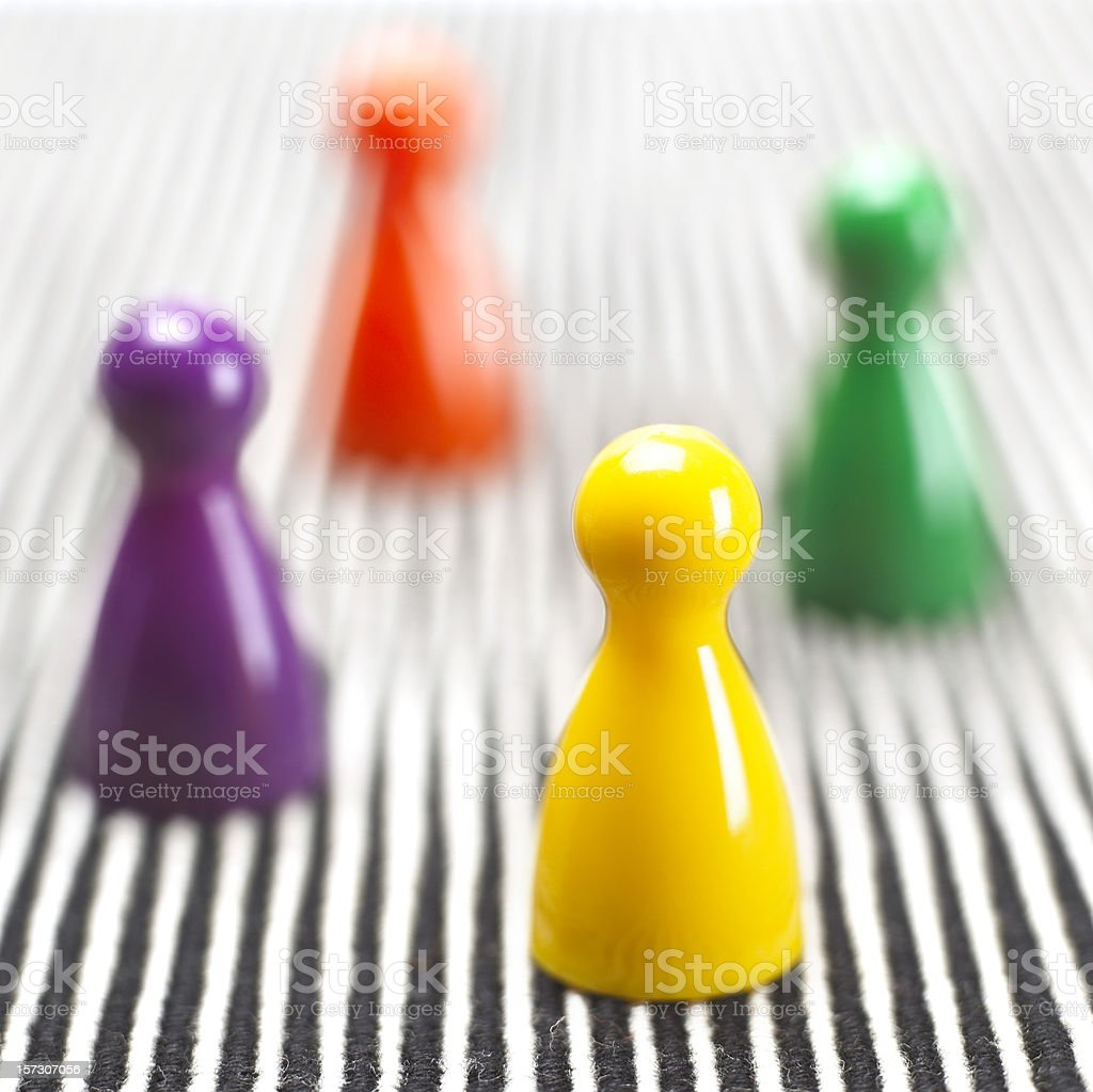 Pawns royalty-free stock photo