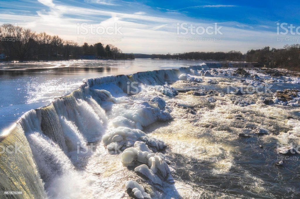 Pawtucket Falls stock photo