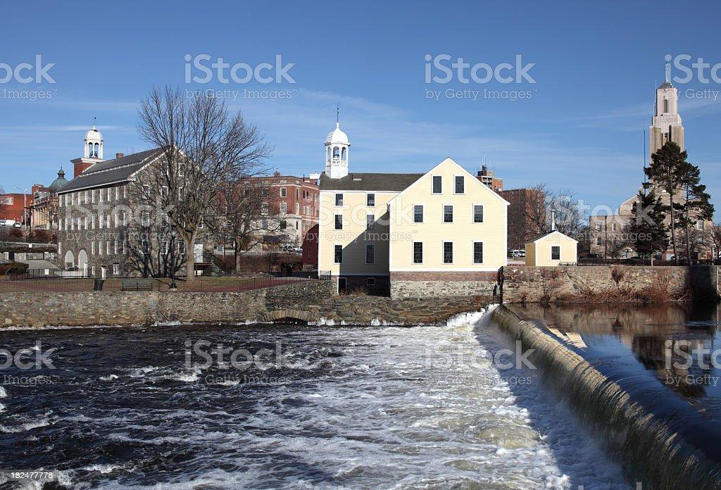 Pawtucket, Rhode Island royalty-free stock photo