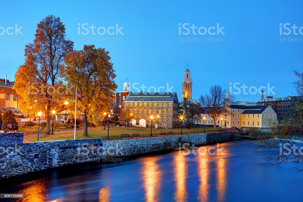 Pawtucket, Rhode Island stock photo