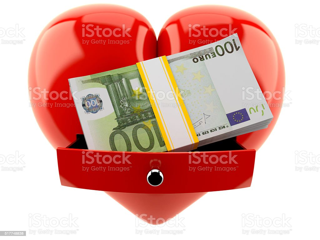 Pay for love stock photo