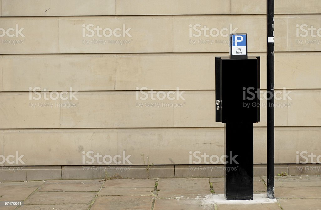 Pay here royalty-free stock photo