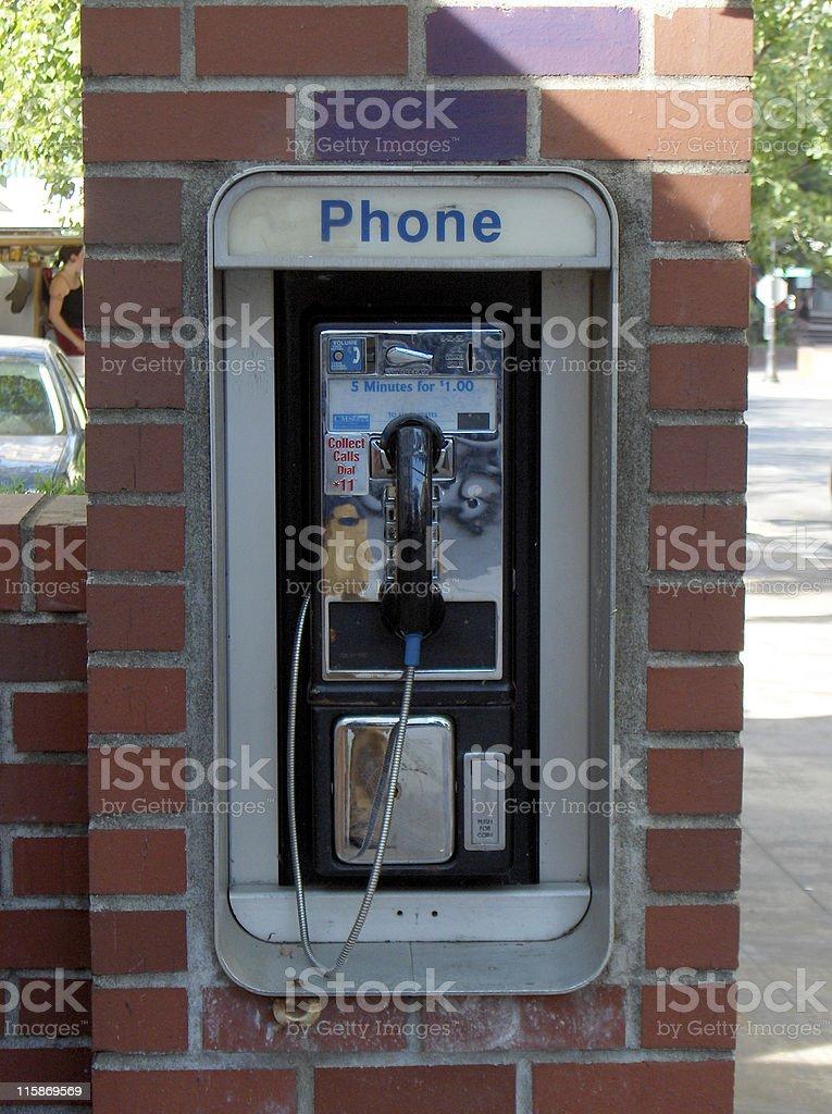 Pay Phone stock photo