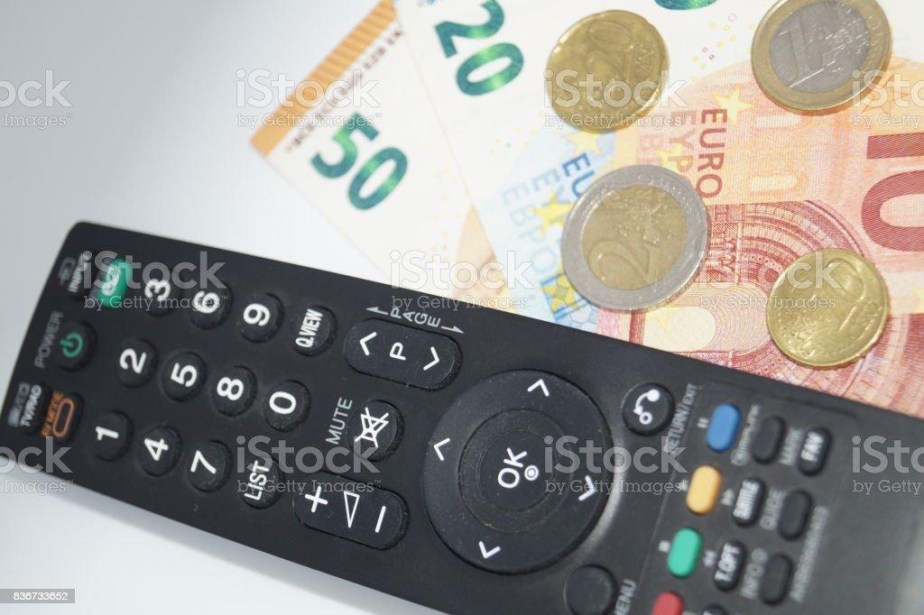 Pay TV / GEZ stock photo