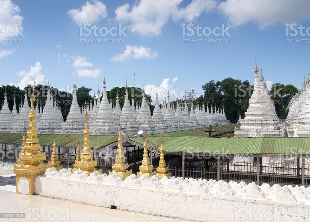 Paya, Sandamuni Pagoda, Mandalay, Myanmar stock photo