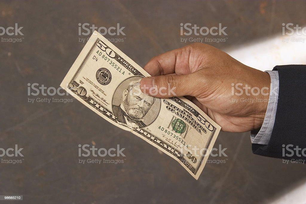 paying 3 royalty-free stock photo