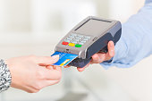 Paying with credit or debit card