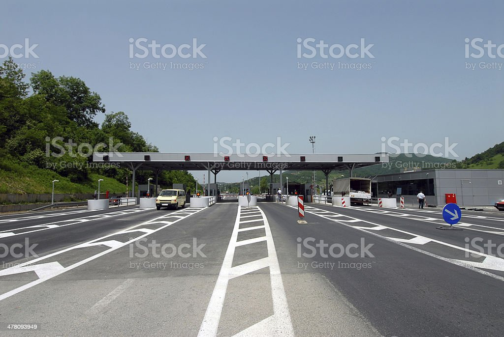 payment highway stock photo