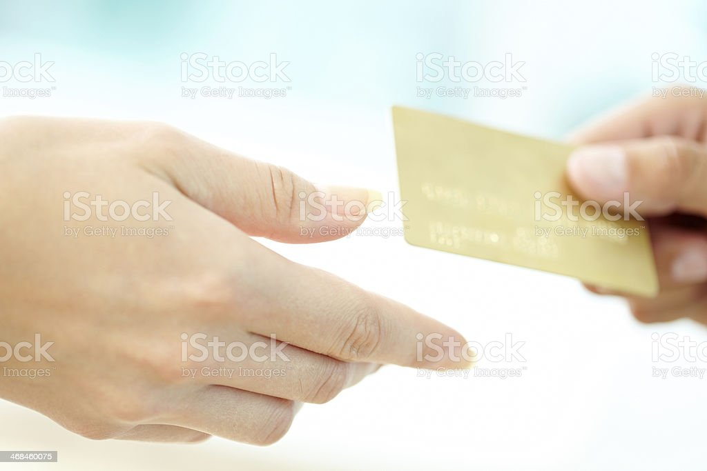 Payment royalty-free stock photo