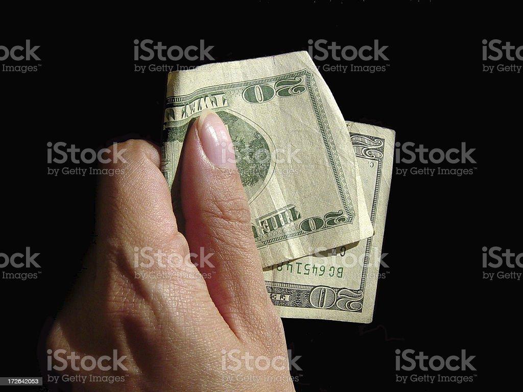 Payoff stock photo