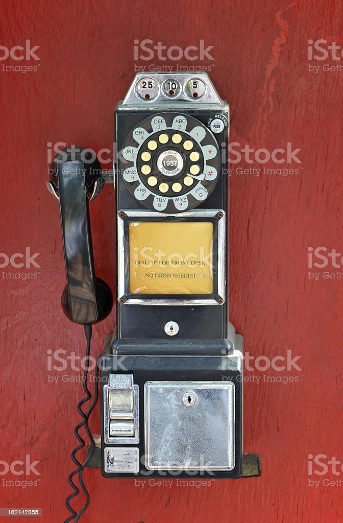 Payphone stock photo