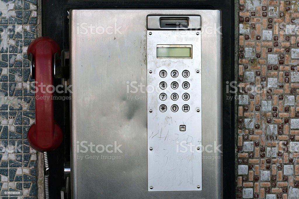 payphone royalty-free stock photo