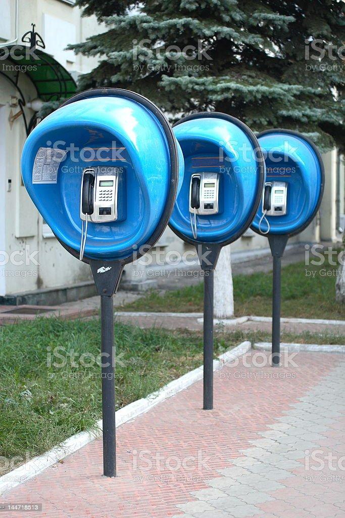 payphones royalty-free stock photo