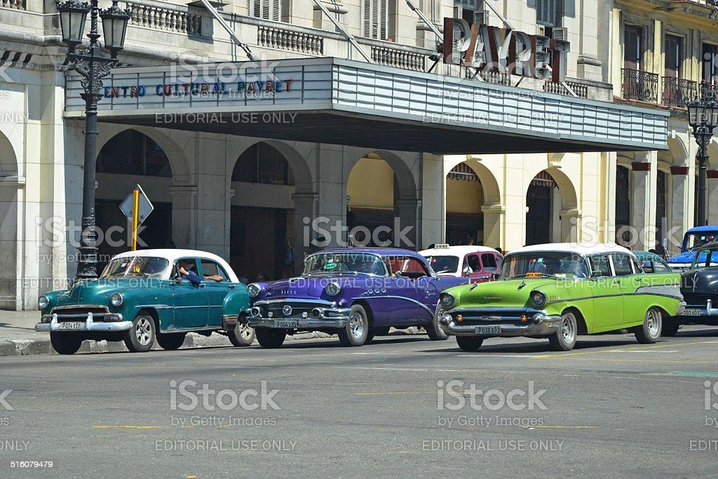 Payret Cars stock photo