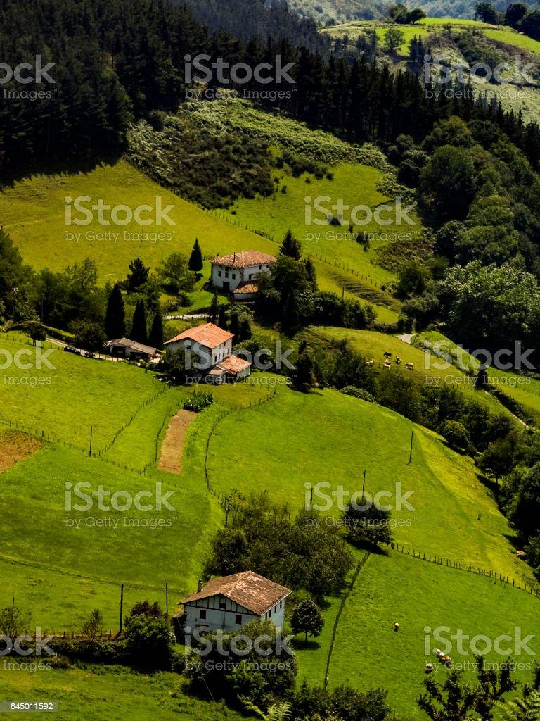 pays basque stock photo
