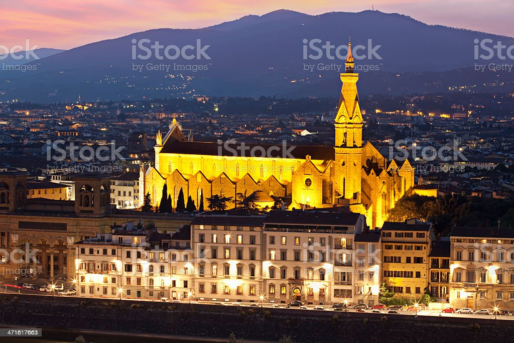 Pazzi Chapel. Florence, Italy royalty-free stock photo