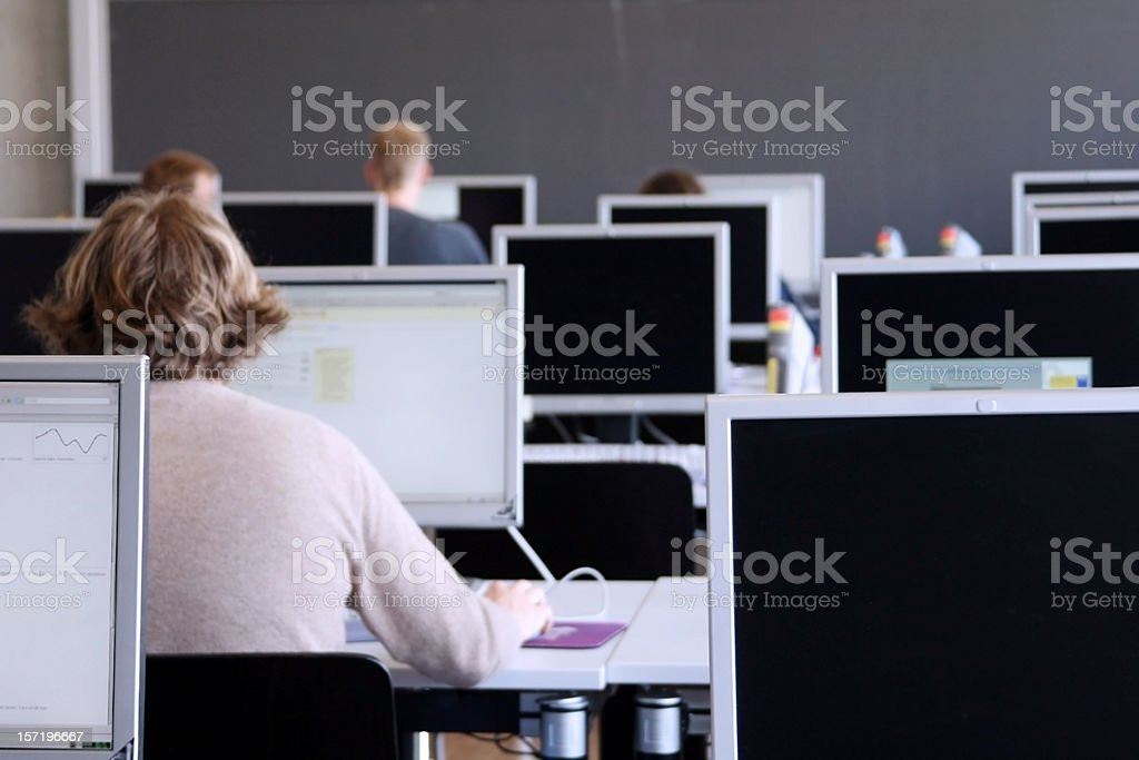 pc room royalty-free stock photo