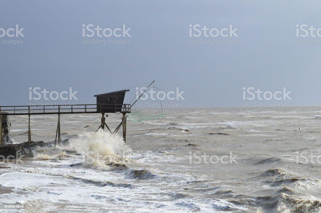 Pêcherie stock photo