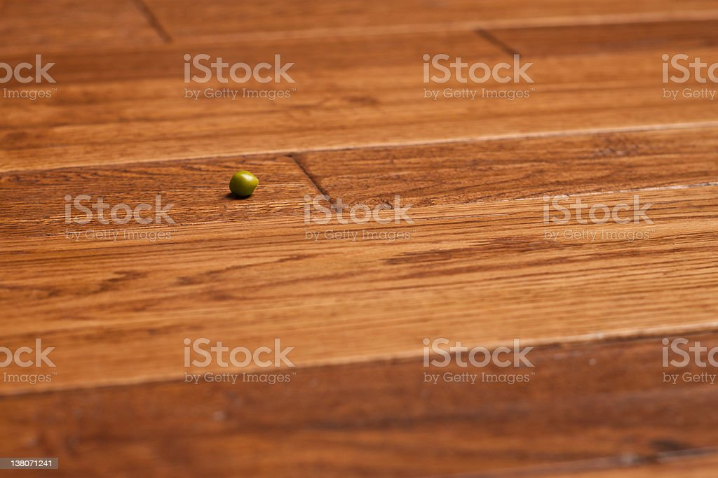 Pea Empty Room royalty-free stock photo