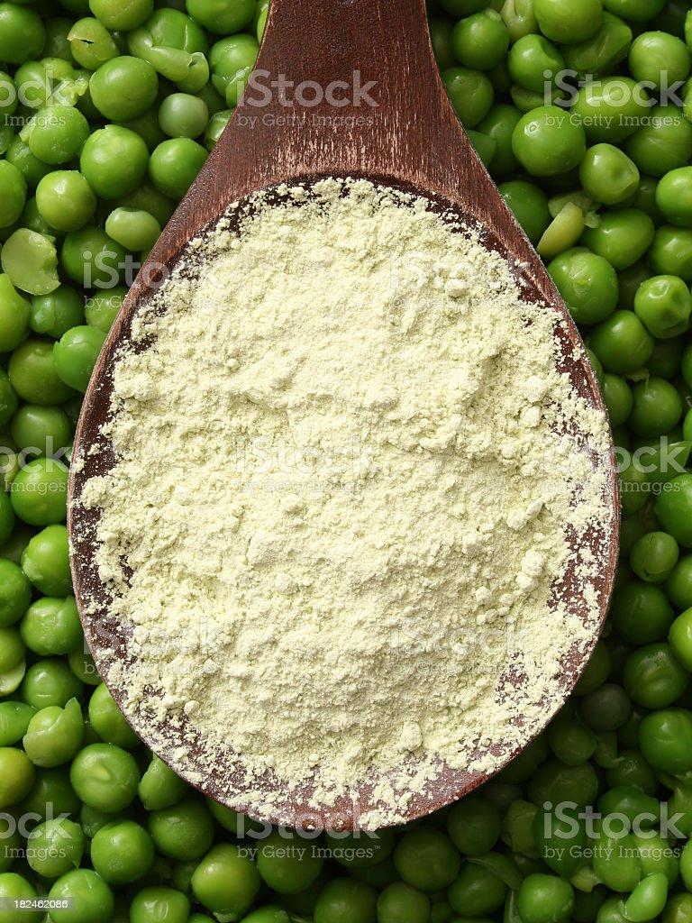 Pea flour royalty-free stock photo